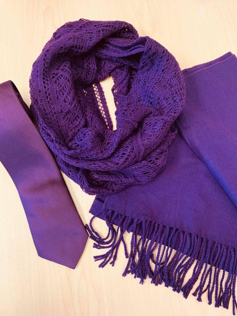 Purple Scarf WIC 2020